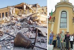 Terremoto, la scuola antisismica venuta giù