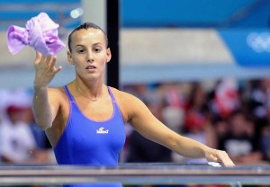 Rio 2016: asciugamanino tuffatori, serve a... saltare