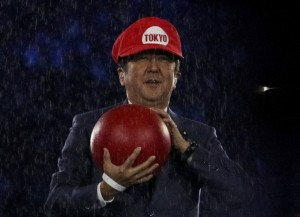 YOUTUBE Shinzo Abe come Super Mario lancia Tokyo 2020