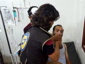 Siria, gas cloro contro i civili: bimbi e donne intossicati