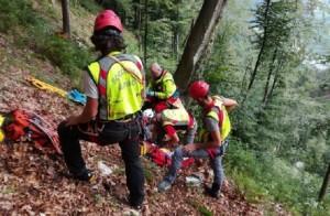 Guarda la versione ingrandita di Oscar Lido D'Andrea, pompiere muore mentre salva escursionista (foto d'archivio)