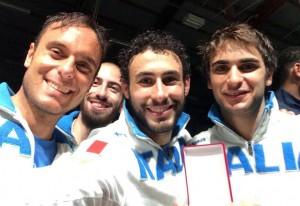 Spada a squadre maschile: Italia in finale, un'altra medaglia