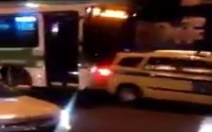 Guarda la versione ingrandita di Rio 2016, guerra tra bus e taxi