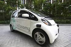 Un taxi della nuTonomy
