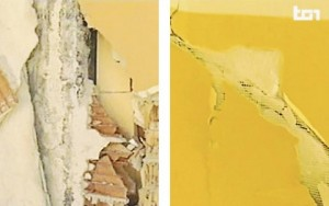 Guarda la versione ingrandita di Terremoto Amatrice, nei muri della scuola crollata c'era il polistirolo