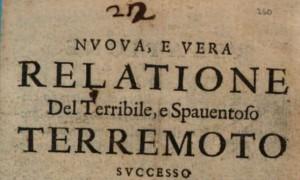 Terremoto centro Italia: Accumoli e Amatrice, il precedente del 1639