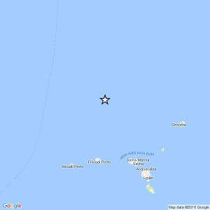 Terremoto Eolie, forte scossa del 3.6 vicino al vulcano Marsili