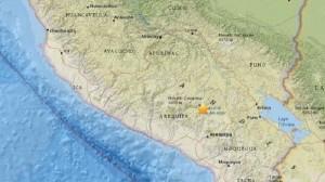 Guarda la versione ingrandita di Terremoto Perù: scossa a Arequipa, almeno 7 morti