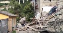 Pescara del Tronto rasa <br /> completamente al suolo