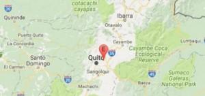 Guarda la versione ingrandita di Terremoto Ecuador: scossa 4.7, epicentro a Quito