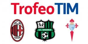 Trofeo Tim 2016: diretta streaming e tv, dove vedere Milan, Sassuolo e Celta Vigo