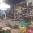 Tunisia, bus e tir contro un mercato a Kasserine: decine di morti FOTO 4