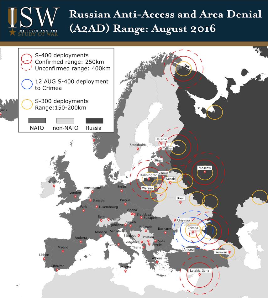 Russia, aumenta copertura missilistica in Europa: la mappa 01