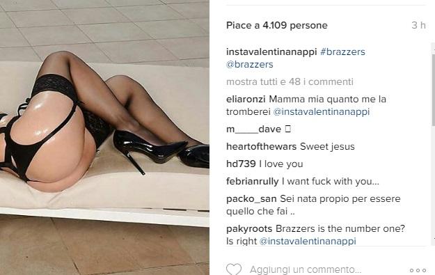Valentina Nappi, ultima FOTO su Instagram solo con...4