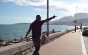 """Ventimiglia, poliziotto ai migranti: """"Deficienti, bastardi..."""""""