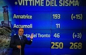 """Terremoto, blog Beppe Grillo contro Vespa e Delrio: """"Una vergogna"""""""