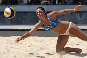 Guarda la versione ingrandita di Rio 2016, positiva al doping Viktoria Orsi Toth, azzurra del beach volley