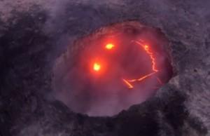 YOUTUBE Hawaii, il vulcano Kilauea sorride: nella lava spunta uno smile