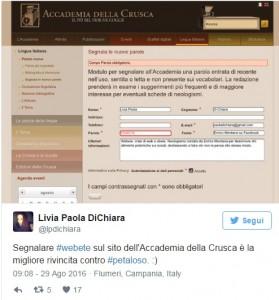 """Guarda la versione ingrandita di Webete, neologismo Mentana conquista web e Crusca: """"Se lo usate…"""""""