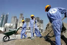 Lavoratori indiani in Arabia Saudita