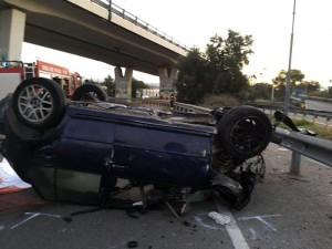 Cagliari, schianto in auto: morti tre ragazzi