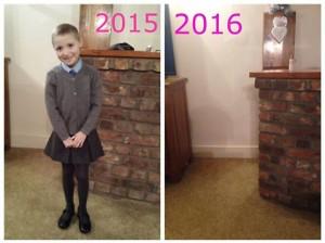 Posta foto primo giorno di scuola della figlia, immagine commuove il web