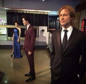 Angelina Jolie e Brad Pitt, la coppia divorzia anche al Madame Tussauds
