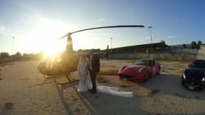 Sposi in elicottero al centro di Nicotera, no autorizzazione. L'ombra del boss Mancuso