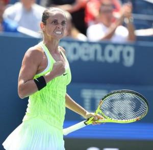 Guarda la versione ingrandita di  Tennis, Roberta Vinci fuori da Us Open: sfuma sogno semifinale - FOTO ANSA