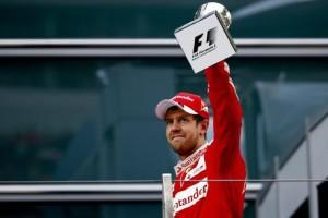 """F1. Gp Monza, gioia Sebastian Vettel: """"Questo è podio più bello del mondo"""""""