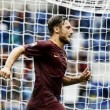 Torino-Roma, entra Francesco Totti: standing ovation intero stadio