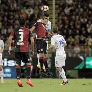 Cagliari-Sampdoria 2-1   Crotone-Atalanta 1-3: video gol highlights, foto e pagelle