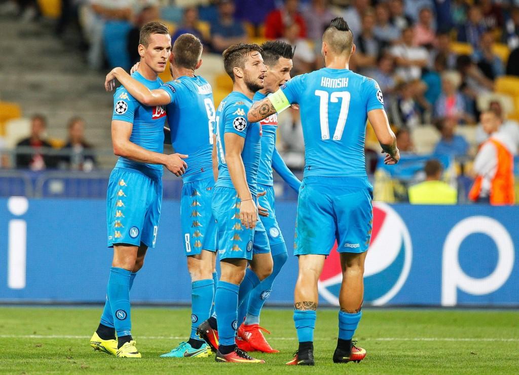 Dynamo Kiev vs SSC Napoli