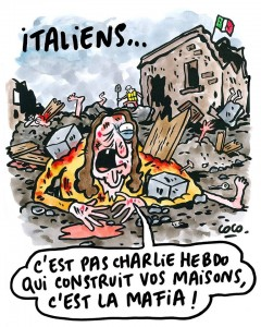 Amatrice querela Charlie Hebdo per vignette post terremoto