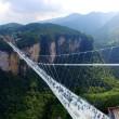 Cina, il ponte di vetro dei record chiude troppi visitatori