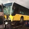 Conducente picchiato con ombrello bus finisce sopra auto6