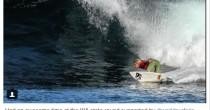 Delfino cade su surfista <br /> di 13 anni dopo salto