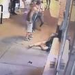 Esce dal negozio picchia la compagna e scappa2
