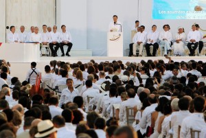 """VIDEO Terrorismo, il capo delle Farc in Colombia chiede perdono per """"il dolore che abbiamo causato"""""""