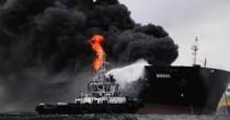 YOUTUBE Golfo Messico, petroliera esplode: 150mila barili in fiamme