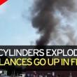 Irlanda, ambulanza esplode davanti ospedale: paziente a bordo muore