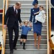 Kate Middleton e famiglia in Canada
