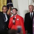 La spaccata di Barack Obama all'incontro con gli atleti12
