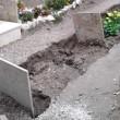 Lecce, forte maltempo al cimitero sprofondano le bare4