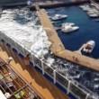 Messina, nave da crociera Carnival Vista provoca mini tsunami 8