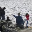 Monte Bianco, turisti in shorts saltellano tra i crepacci FOTO
