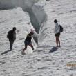 Monte Bianco, turisti in shorts saltellano tra i crepacci FOTO8