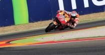 Ad Aragon vince Marquez<br /> secondo Lorenzo poi Rossi