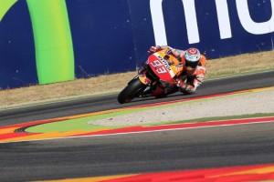 Moto Gp Aragon vince Marquez, secondo Lorenzo terzo Valentino Rossi