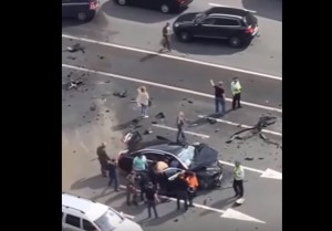Putin, la sua auto coinvolta in un incidente: morto l'autista